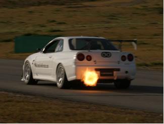R34 Nissan Skyline GT-R N1 Fireball | Driver: Igor Sushko