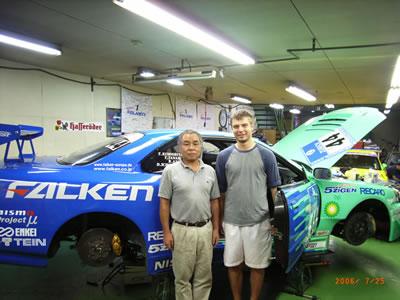 Suzuki-san's R34 Skyline GT-R Nurburgring