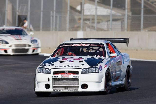 R34 Nissan Skyline GT-R race car