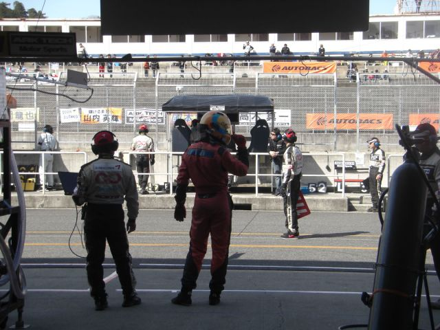 Igor Sushko at Super GT