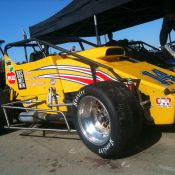 Pierson Racing Bos Sheet Metal USAC Sprint Car.