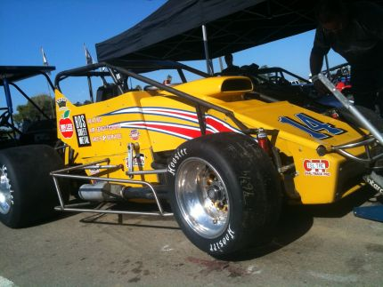 Pierson Racing Bos Sheet Metal USAC Sprint Car