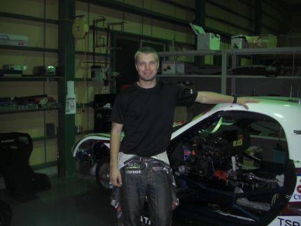Igor Sushko with #4 Bomex Lian Porsche Boxter