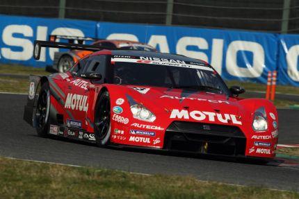 Super GT GT500 Nissan GT-R