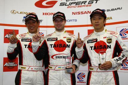 Igor Sushko - #26 Taisan Porsche | 2010 Super GT GT300 Pole Position