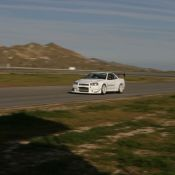 R34 GT-R N1 in Action on the Track