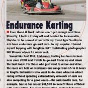 Road and Track Karting
