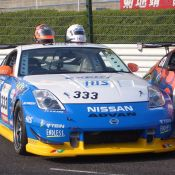 The all-Nissan Z photoshoot at Suzuka Circuit.
