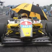 Igor Sushko in the #1 H.I.S. FCJ racecar.