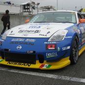 The #333 H.I.S. NISMO Z before the start of the race.