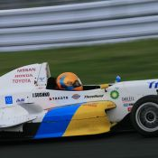 Igor Sushko at Fuji Speedway in the Japanese FCJ - Formula Renault. #1 H.I.S. car.