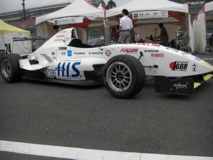#24 H.I.S. Travel FCJ (Formula Renault), driven by Igor Sushko