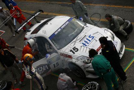 Nissan Fairlady Z racecar at Sendai Hiland