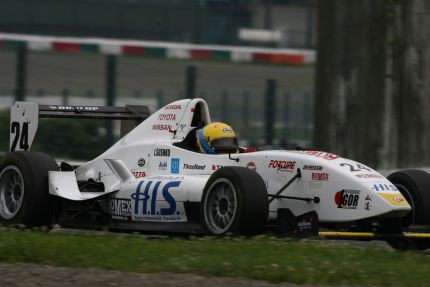 Igor Sushko in Japanese Formula Renault
