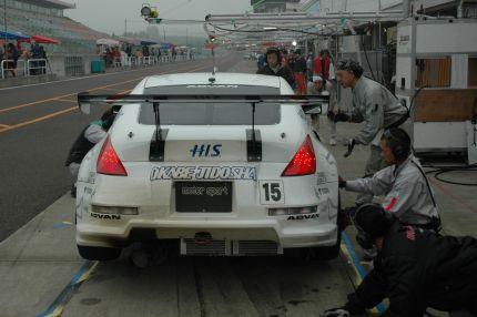 Nissan 350Z Z33 pitstop at Tokachi 24