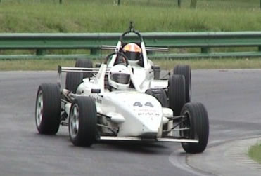 Igor Sushko racing in the Skip Barber Formula Series