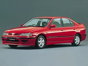 The Nissan Primera P11, sold in the United States as Infiniti G20 in the early 90's.