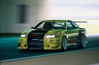 The brute Nissan Skyline GT-R